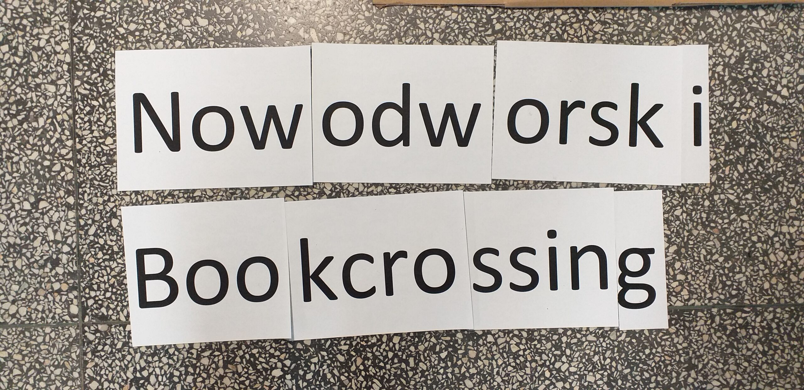 Nowodworski Bookcrossing
